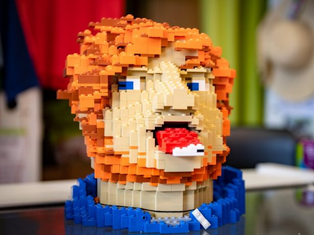 Ed Sheeran Donates Belongings To Charity Shop - Including LEGO Self-Portraits