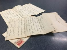 Letters From Love Struck Soldier Turn Up At British Airport 63 Years After Being Written