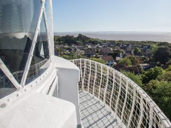 A Lighthouse Converted Into Romantic Bolthole With Panoramic Views Of The Coast On The Market For £500,000
