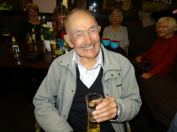 100-Year-Old Says Cider Is One Of The Keys To A Long Life