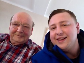 Dad Reunited With Long Lost Grandfather After Tracking Him Down On Facebook