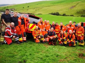Lucky Puppy Rescued By Team Of 20 Firefighters After Falling 115fT Down Mine Shaft