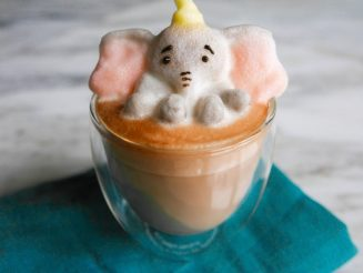 Artist Daphne Tan has shot to fame by creating amazing frothy 3D sculptures out of LATTE