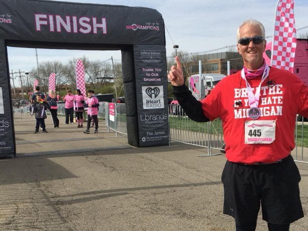 325lb Dad Who Couldn't Run Down 50ft Sheds 115lbs Of Flab To Run Marathon In Just Over A Year