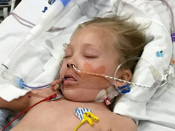 Nine-year-old who lost a foot to meningitis two years ago faces fresh heartache after being told she will lose her other leg