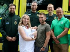 Mum And Baby Reunited With Medical Teams Who Saved Their Lives When She Lost 80% Of Blood During Childbirth