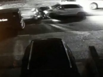 Shocking CCTV Footage Shows Woman On Mobility Scooter Being Hit By A Car