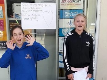 WATCH : Schoolgirl Busker Melts Hearts With Renditions Of Annie Songs Moving One Person To Donate £1,000