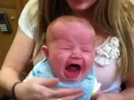 Would you Pierce Your Baby's Ears?  Mum Defends Decision After Video Of Her Baby In Tears Goes Viral