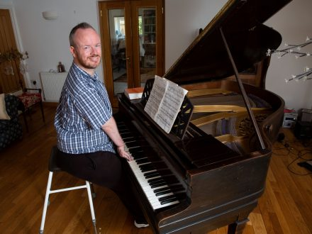 Man Born Without Elbows Defies All Odds By Learning To Play The Piano