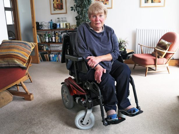 Wheelchair-Bound Pensioner With Cancer Told She No Longer Qualifies For Free Hospital Transport