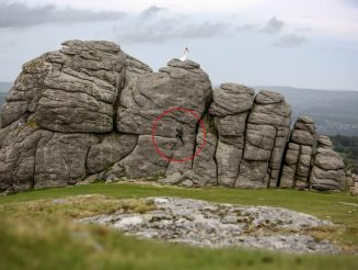 Bride And Groom Climb Massive Rock During Ceremony Without Ropes