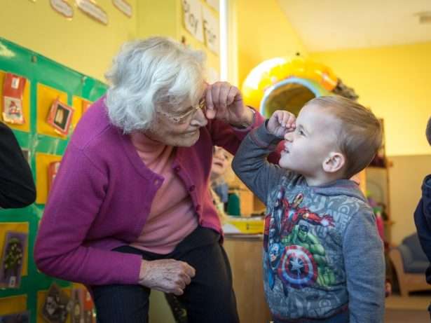 Gran With Vascular Dementia Finds New Lease Of Life - By Volunteering At A NURSERY