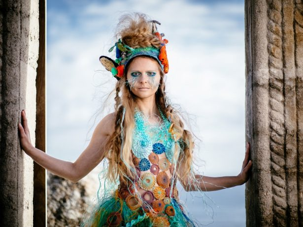 One Women's Trash! - Clothing Designer Makes Dress Out Of Ghost Netting To Raise Awareness