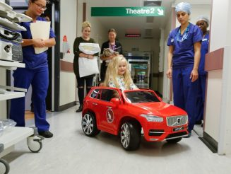 Hospital Provides Children With CARS On The Ward - So They Can Drive Themselves To Surgery
