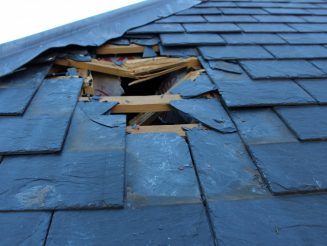 Pensioners Left With Enormous Hole In Their Bungalow Roof - After Huge Slab Of ICE Fell From A Passing Plane