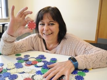 Rookie Gran Gets Knocked Out Of International Poker Competition - After Blagging Her Way To Final Stages