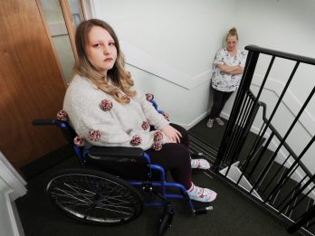 Young Woman Left Behind During Fire Alarm Panic - Because She Was In A Wheelchair