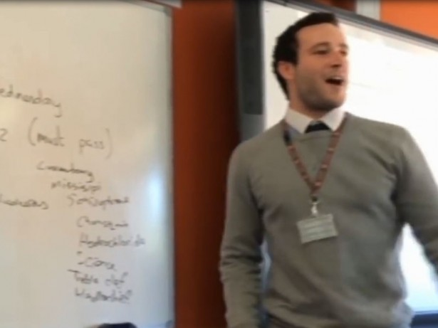 VIRAL : Teacher praised by 50 Cent for freestyle rap video