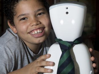 Ten-Year-Old With Rare Condition Which Limits His Time In School Hopes To Send Robot To Lessons Instead