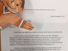 Royal's Mail! : Primary School Kids Thrilled To Get Letter From Prince Harry