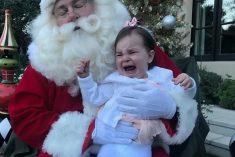 Hilarious Photos Show Kids Bursting Into Tears On Santa's Lap