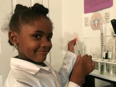 Meet The Seven-Year-Old Whizzkid Who's Schooling The Internet On Science From A Lab In Her Bedroom