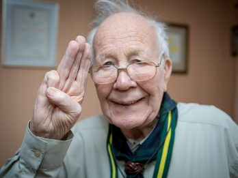 Britain's Oldest Scout Leader Has Been Honoured By The Queen