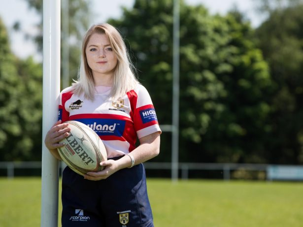 Young Female Rugby Player Has Been Given A Bravery Award For Tackling Robber To The Ground