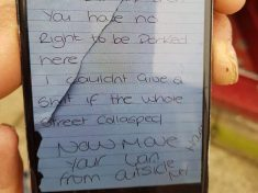 """I Don't Give A Sh*t If The Whole Street Collapses"": Woman Arrested After Paramedics Find Abusive Note On Ambulance"
