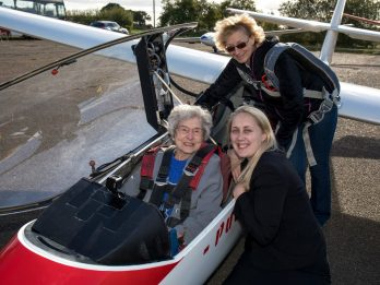 OAP Celebrates 100th Brthday By Overcoming Lifelong Fear Of Planes