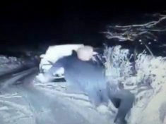 Hilarious Video Of Hapless Cop Falling Over In Snow Goes Viral