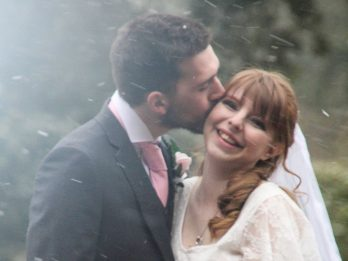 Pregnant Bride And New Husband Were Rushed To Hospital On Their Wedding Day After Dramatic Car Crash - But Made It Back In Time To Celebrate Reception