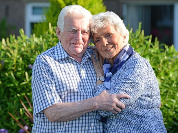 Couple Finally Preparing To Tie The Knot Having Found Each Other At A Bus Station - 60 Years After First Date