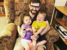 Selfless Couple Whose Daughter Was Born With Down Syndrome Adopt Another Child With The Condition
