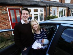 First-Time Dad Forced To Deliver Baby In Back Of Car In Standstill Traffic