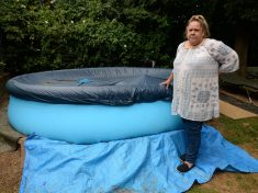 Residents Are Boiling With Rage After Being Told To Remove Paddling Pool – In Case A Burglar DROWNS