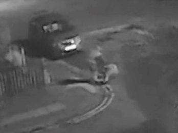 Shocking Footage Shows Elderly Woman Being Pushed To The Ground By Thief Who Stole Her Handbag