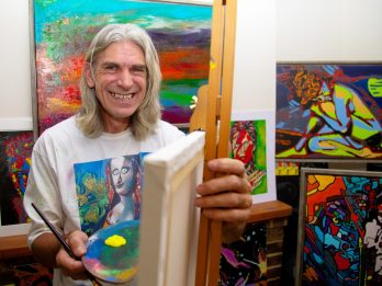 Man Who 'Couldn't Draw Basic Shapes' Has Told How He Woke Up After Stroke - With Incredible New Talent For PAINTING