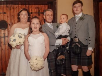 Mum Who Suffered A Stroke After Giving Birth Found The Motivation To Recover So She Could Walk Down The Aisle For Her Wedding