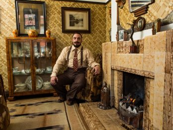 Single Man Steps Back In Time Because His House Is Decorated Just Like A Typical English 1930s Home