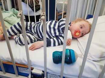 Britain's Youngest Stroke Victim Has Symptoms Diagnosed By Dad Thanks To TV Advert