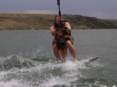'China Doll' Five-Year-Old Who Has Suffered 90 Broken Bones Defied Her Disease To Go Wakeboarding With Her Dad