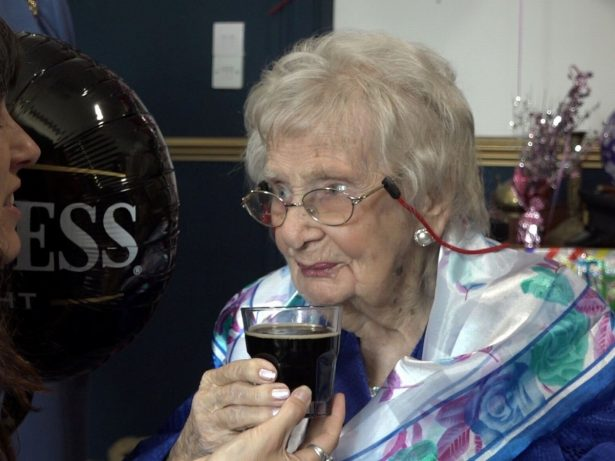 Centenarian Credits Her Long Life To A Daily Glass Of Guinness