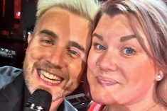 Gary Barlow Superfan Achieves Dream By Singing With Star On Stage