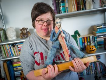 Artist With Down's Syndrome Whose Mum Claims She Was Told She Could Leave Her At Hospital Shows Work At Tate Modern