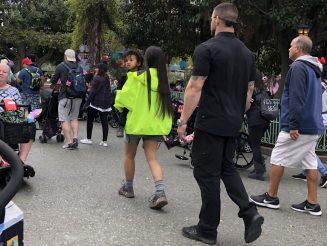 Kim K Visits Disneyland