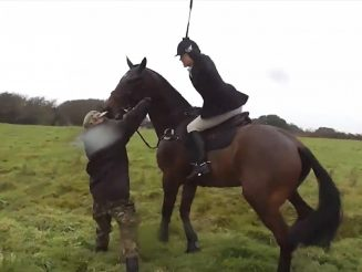 Hunter Won't Face Charges Despite Being Caught On Camera 'Hitting Protester SEVENTEEN TIMES With Her Crop'
