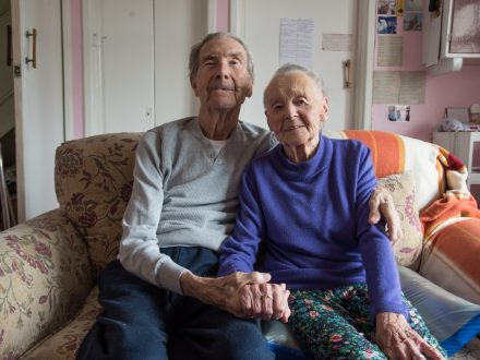 One Of Britain's Longest Married Couples Celebrate 76th Anniversary