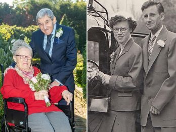 Couple Rekindled Their Romance And Got Married In Their Eighties - 40 Years After They Got Divorced